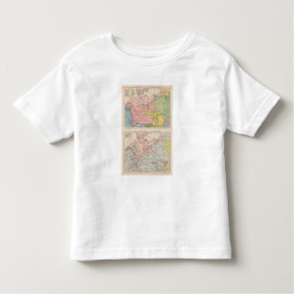 Map of Languages and Religions in Germany Toddler T-Shirt