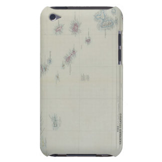Map of Leeward Islands Barely There iPod Case