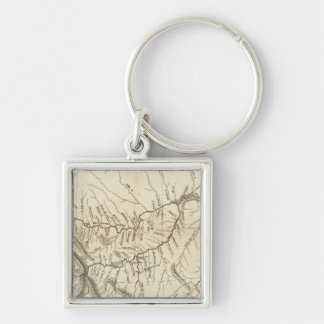 Map of Lewis and Clark's Track Key Ring