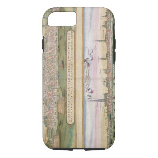 Map of Lubeck and Hamburg, from 'Civitates Orbis T iPhone 8/7 Case