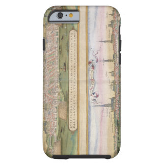 Map of Lubeck and Hamburg, from 'Civitates Orbis T Tough iPhone 6 Case