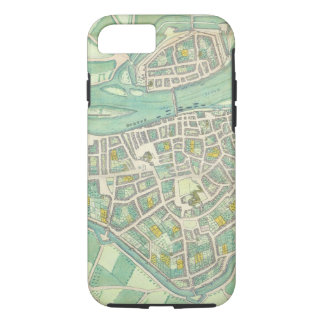 Map of Maastricht, from 'Civitates Orbis Terrarum' iPhone 8/7 Case