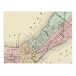 Map of Madison, Wisconsin Postcard