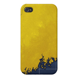 Map of Maine iPhone 4/4S Cases