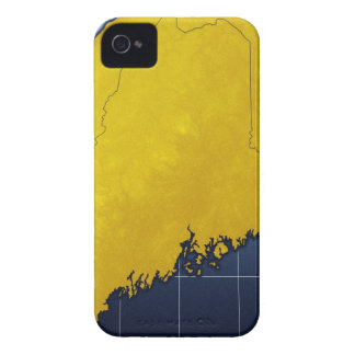 Map of Maine iPhone 4 Cover