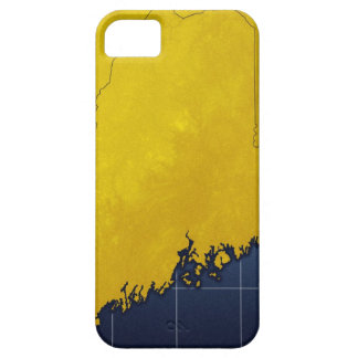 Map of Maine iPhone 5 Covers