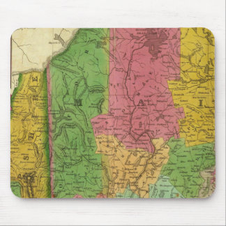 Map of Maine, New Hampshire, and Vermont Mouse Pad