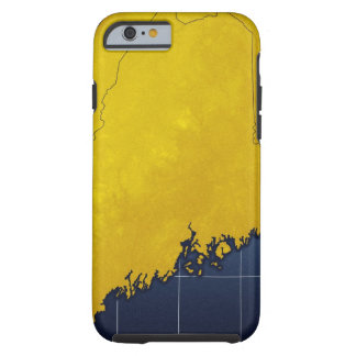 Map of Maine Tough iPhone 6 Case