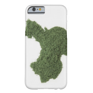 Map of Mainland China made of grass 2 Barely There iPhone 6 Case