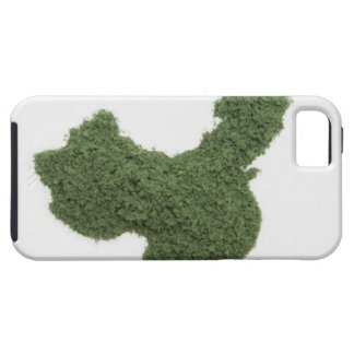 Map of Mainland China made of grass 2 iPhone 5 Cover