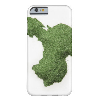 Map of Mainland China made of grass Barely There iPhone 6 Case