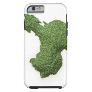 Map of Mainland China made of grass Tough iPhone 6 Case