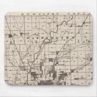 Map of Marion County 2 Mouse Mat
