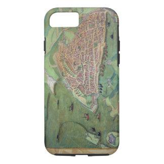 Map of Marseilles, from 'Civitates Orbis Terrarum' iPhone 8/7 Case