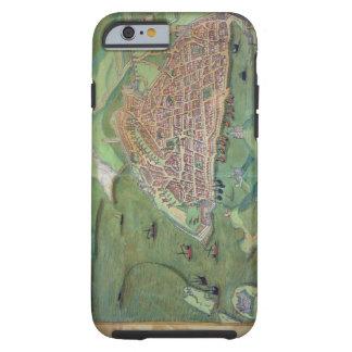 Map of Marseilles, from 'Civitates Orbis Terrarum' Tough iPhone 6 Case