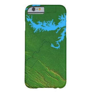 Map of Maryland 2 Barely There iPhone 6 Case