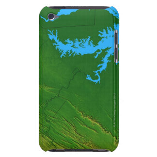 Map of Maryland 2 Barely There iPod Cases