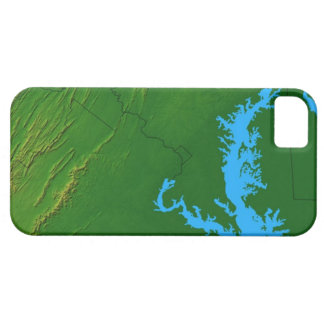 Map of Maryland 2 Case For The iPhone 5