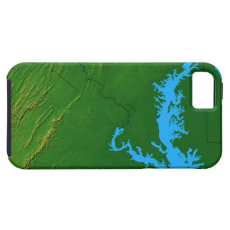 Map of Maryland 2 iPhone 5 Cases