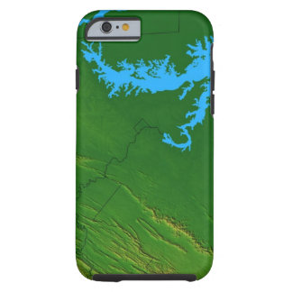 Map of Maryland 2 Tough iPhone 6 Case
