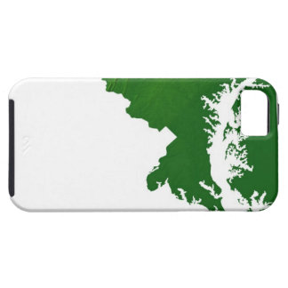 Map of Maryland 3 Case For The iPhone 5