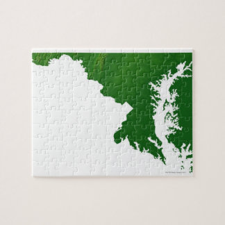 Map of Maryland 3 Jigsaw Puzzle