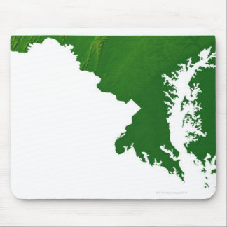 Map of Maryland 3 Mouse Pad