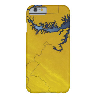 Map of Maryland 4 Barely There iPhone 6 Case