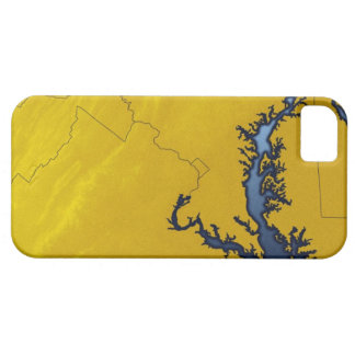 Map of Maryland 4 Case For The iPhone 5