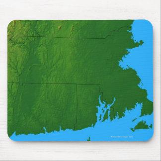 Map of Massachusetts 2 Mouse Mat