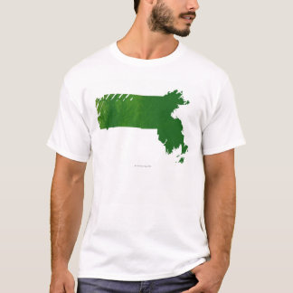 Map of Massachusetts T-Shirt