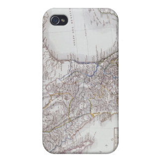 Map of Mexico 2 Case For iPhone 4