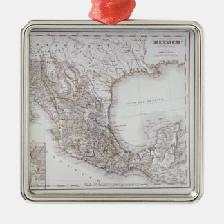 Map of Mexico 2 Christmas Ornament