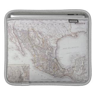 Map of Mexico 2 iPad Sleeve