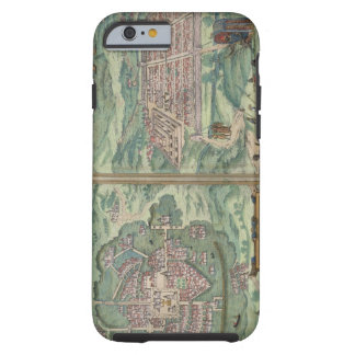 Map of Mexico and Cuzco, from 'Civitates Orbis Ter Tough iPhone 6 Case