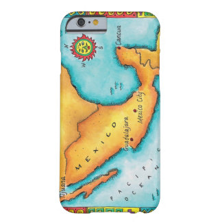 Map of Mexico Barely There iPhone 6 Case