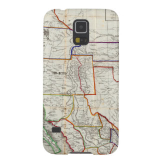 Map Of Mexico & California Case For Galaxy S5