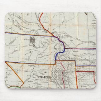 Map Of Mexico & California Mouse Mat