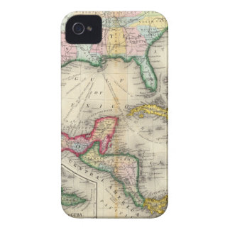 Map Of Mexico, Central America Case-Mate iPhone 4 Case