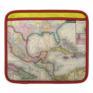 Map Of Mexico, Central America iPad Sleeve