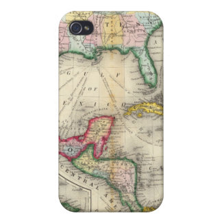 Map Of Mexico, Central America iPhone 4/4S Cover