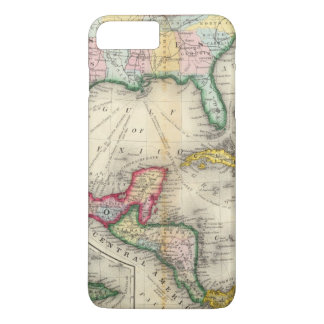 Map Of Mexico, Central America iPhone 8 Plus/7 Plus Case