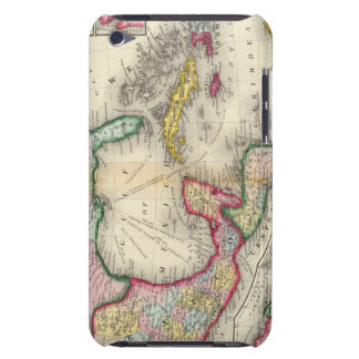 Map Of Mexico, Central America iPod Case-Mate Case