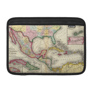 Map Of Mexico, Central America MacBook Sleeve