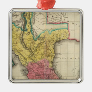 Map Of Mexico Christmas Tree Ornament