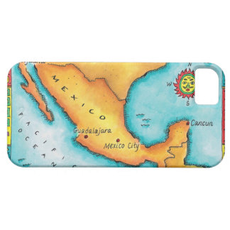 Map of Mexico iPhone 5 Case