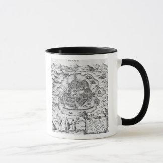 Map of Mexico Mug