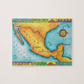 Map of Mexico Puzzle