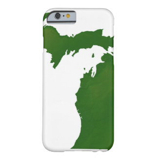 Map of Michigan Barely There iPhone 6 Case