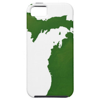 Map of Michigan iPhone 5 Case